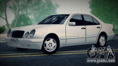 Mercedes-Benz E420 for GTA San Andreas right view