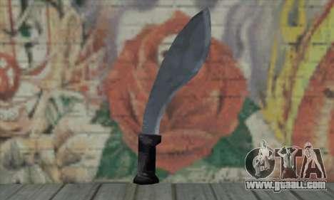 Sword for GTA San Andreas