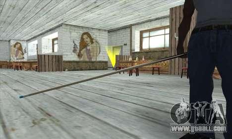 Pool cue for GTA San Andreas third screenshot