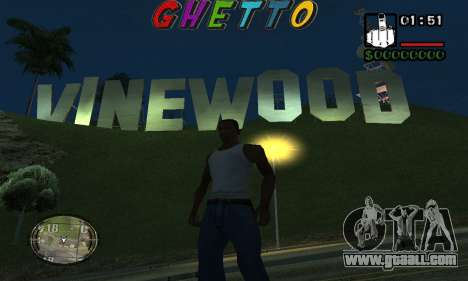 Шапка Ghetto by Nick Quest for GTA San Andreas second screenshot