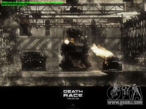 Boot screens Death Race for GTA San Andreas forth screenshot