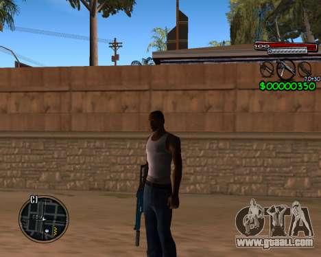C-HUD by Santoro for GTA San Andreas