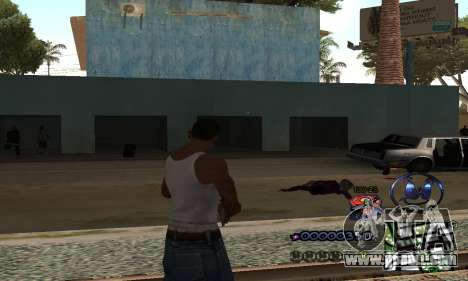 HUD by Anatole for GTA San Andreas second screenshot