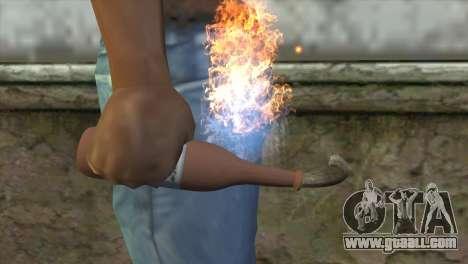 Molotov Cocktail for GTA San Andreas third screenshot