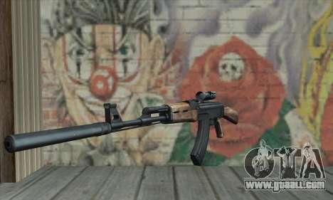 AK-47 Silencer for GTA San Andreas
