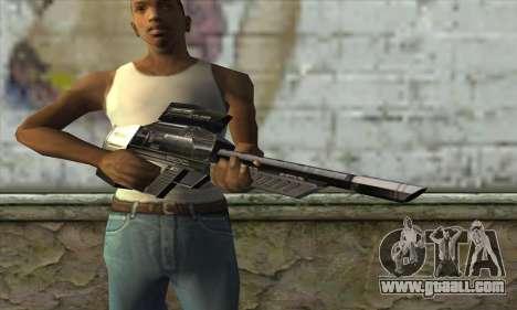 P-Laser Sniper Rifle for GTA San Andreas third screenshot