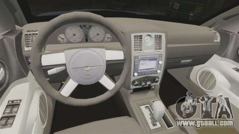 Chrysler 300C SRT8 for GTA 4 inner view