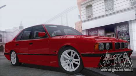 BMW 525i for GTA San Andreas back view