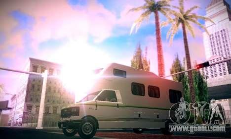 GTA V Camper for GTA San Andreas back left view