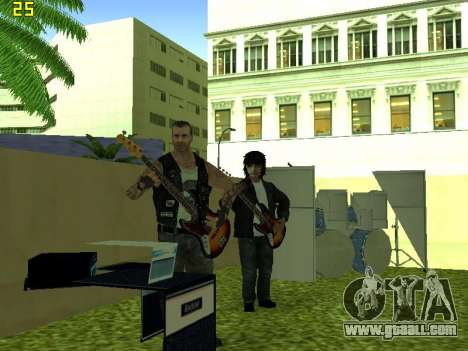 The concert Film for GTA San Andreas sixth screenshot