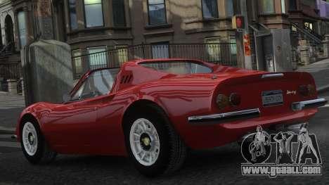 Ferrari Dino 246 GTS for GTA 4 interior