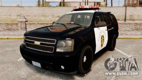 Chevrolet Tahoe 2007 LCHP [ELS] for GTA 4