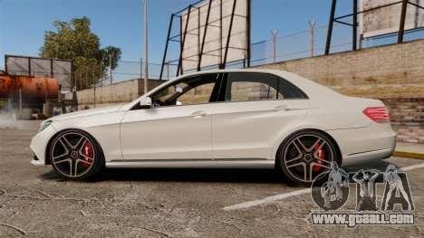 Mercedes-Benz E63 AMG 2014 v2.0 for GTA 4 left view