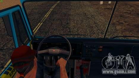 KamAZ 4310 for GTA San Andreas back view