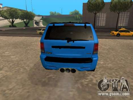 Jeep Grand Cherokee SRT8 Restyling M for GTA San Andreas right view