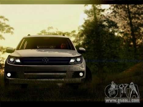 Volkswagen Tiguan 2012 for GTA San Andreas side view