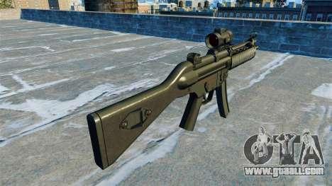 Submachine gun MP5 RIS Nom900a for GTA 4 second screenshot