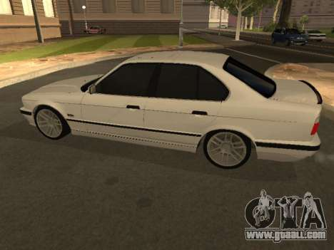 BMW 525 Smotra for GTA San Andreas left view
