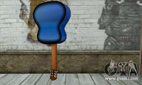 Guitar for GTA San Andreas second screenshot