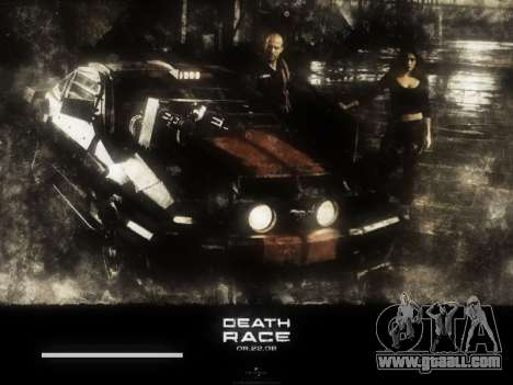 Boot screens Death Race for GTA San Andreas fifth screenshot