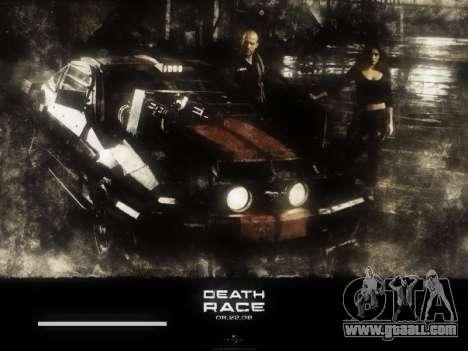 Boot screens Death Race for GTA San Andreas fifth screenshot