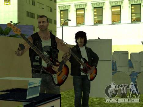 The concert Film for GTA San Andreas fifth screenshot