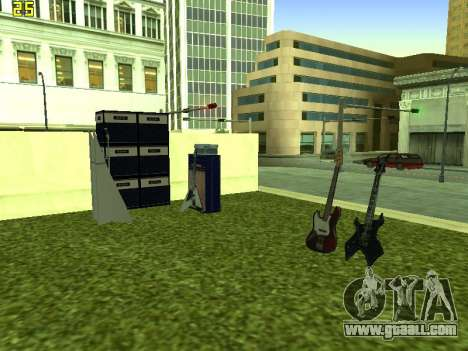 The concert Film for GTA San Andreas forth screenshot