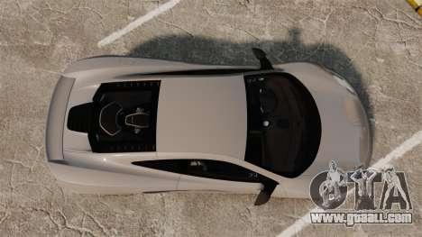McLaren MP4-12C 2012 [EPM] for GTA 4 right view