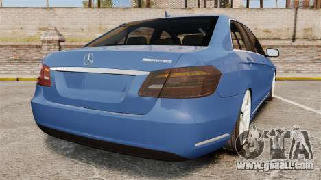 Mercedes-Benz E63 AMG 2014 for GTA 4 back left view