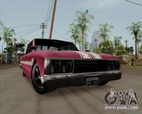 Ford Falcon Sprint 1972 for GTA San Andreas left view