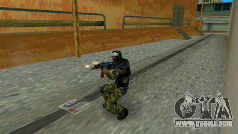 Soldier Of Special Forces for GTA Vice City third screenshot