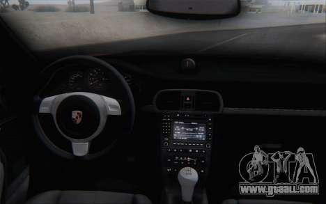 Porsche 911 Turbo for GTA San Andreas bottom view