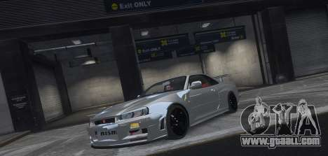 Nissan Skyline GTR-34 Nismo Z-Tune for GTA 4