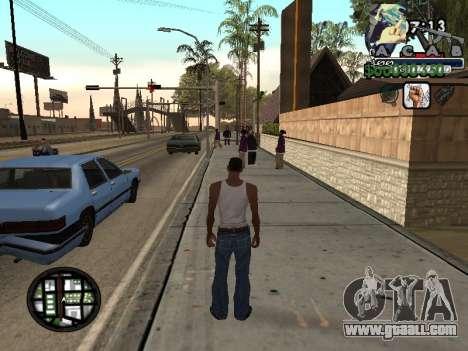 C-Hud Woozie Tawer for GTA San Andreas