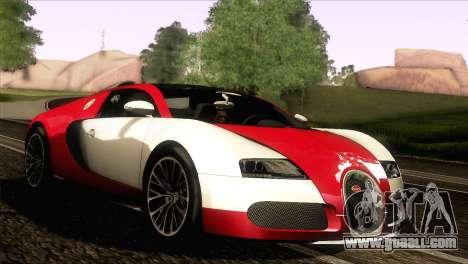 Bugatti Veyron 16.4 for GTA San Andreas left view