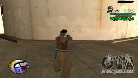 C-HUD By Fedya for GTA San Andreas second screenshot