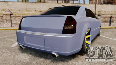 Chrysler 300C SRT8 for GTA 4 back left view