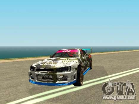 Nissan Skyline Drift for GTA San Andreas