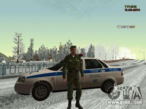 Skin fighter MIA for GTA San Andreas forth screenshot