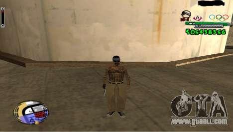 C-HUD By Fedya for GTA San Andreas