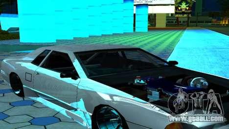 Elegy 280sx v2.0 for GTA San Andreas upper view
