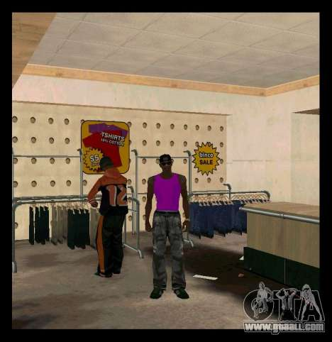 Green and Purple Mike for GTA San Andreas second screenshot
