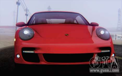 Porsche 911 Turbo for GTA San Andreas wheels