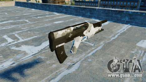 Submachine gun Filine v2.0 for GTA 4 second screenshot
