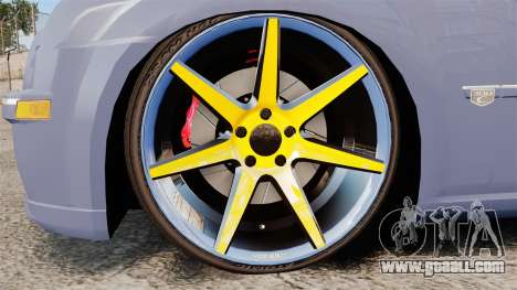 Chrysler 300C SRT8 for GTA 4 back view