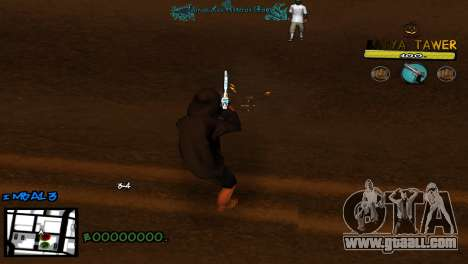 C-Hud by Baton Batya for GTA San Andreas third screenshot