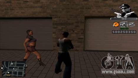 C-Hud Eazy-E for GTA San Andreas second screenshot
