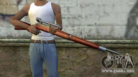 Springfield Sniper for GTA San Andreas third screenshot