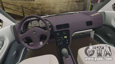Nissan Tsuru for GTA 4 inner view