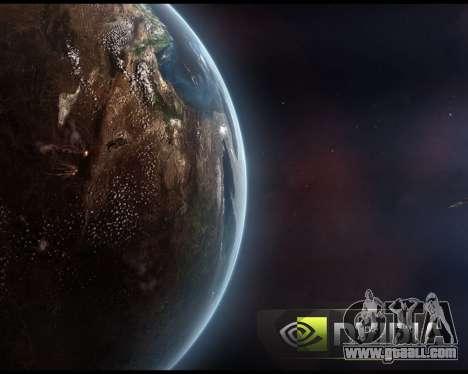 New boot screens Space for GTA San Andreas seventh screenshot